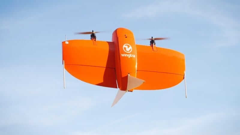 VTOL drone WingtraOne: fly everywhere and avoid belly
