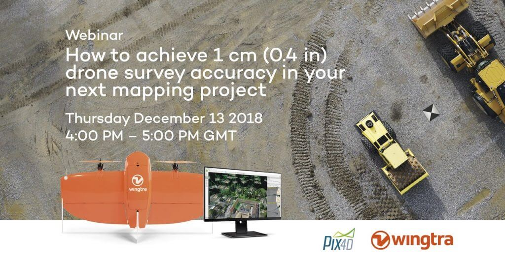 Webinar: How to achieve 1 cm drone survey accuracy in your next
